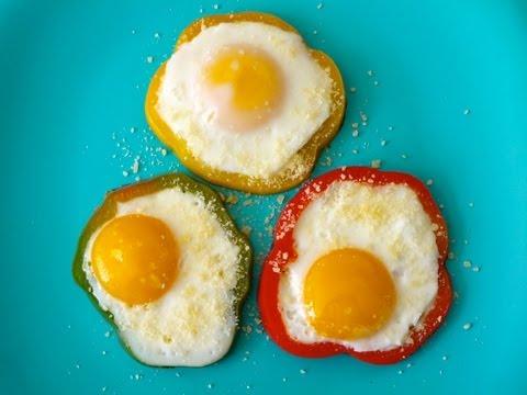 Easy Recipes for Kids: How to Make Bell Pepper Eggs for Children - Weelicious