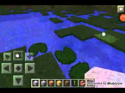 Minecraft PE 0.9.5 natural spawning lilypads seed