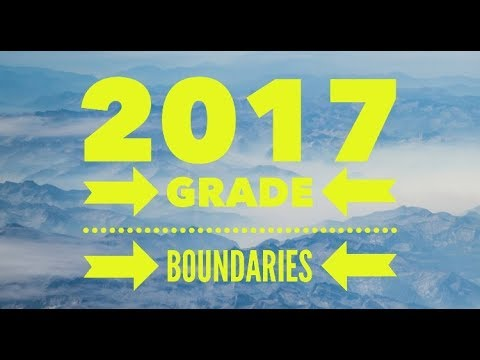 2017 AQA GCSE GRADE BOUNDARIES!