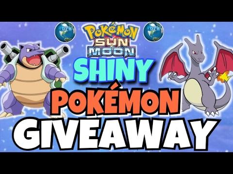 Shiny Pokemon Giveaway-LiveStream reverse GTS Giveaway Pokemon sun and moon GA/GIVEAWAY