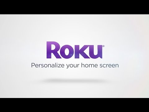 Personalize your Roku Home Screen