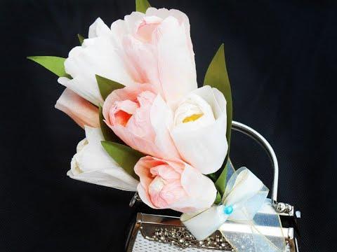 Paper Flowers  - Tulips Bouquet
