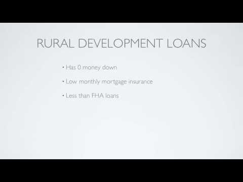 Home Buying Process -Zero Down USDA Rural Development Loan
