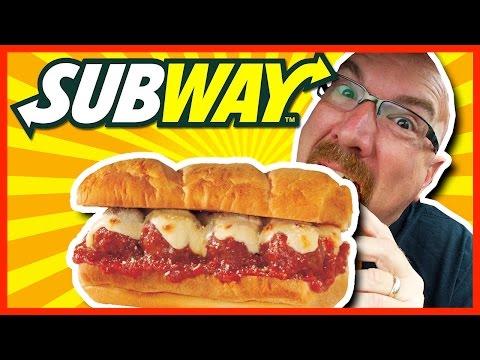 8 Balls of Wonder - Subway Meatball Sub on an Italian Bun Review  | KBDProductionsTV