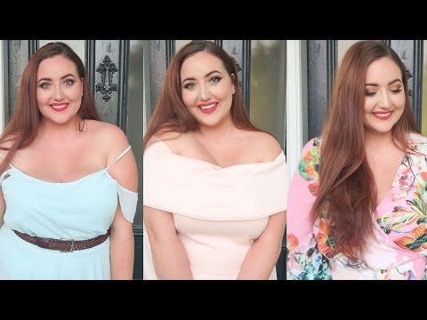 What to wear to a wedding | Plus Size Look Book | MeganOnAir