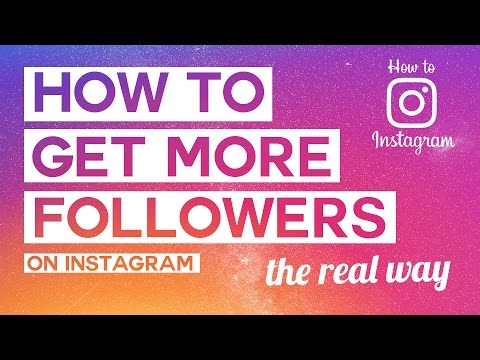 HOW TO GET MORE FOLLOWERS ON INSTAGRAM (THE REAL WAY) TOP 5 TIPS// How To Instagram