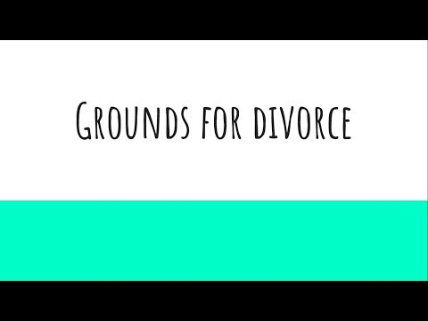 Grounds for Divorce - Indian Family Law