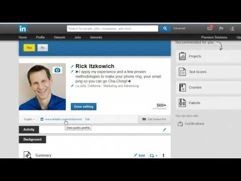 How to customize your LinkedIn URL