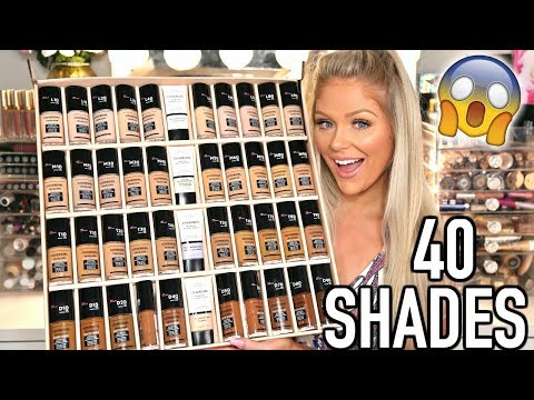 NEW COVERGIRL TRUBLEND MATTE MADE FOUNDATION | REVIEW + WEAR TEST