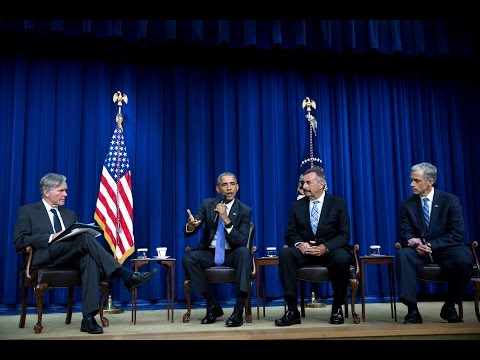 The President Hosts a Panel Discussion on Criminal Justice Reform