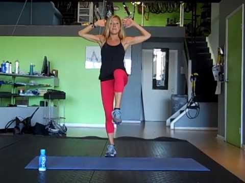 Fat Burning Fourth of July Circuit Challenge. 12 Minute Total Body Workout Routine.