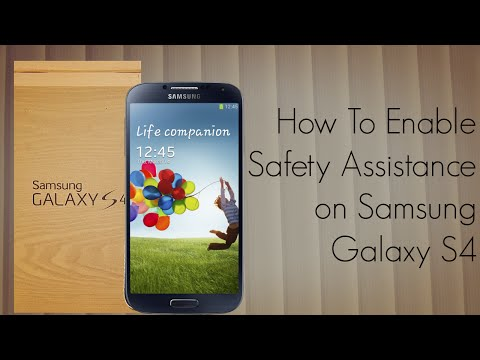 How to Enable Safety Assistance on Samsung Galaxy S4 / Declare An Emergency - PhoneRadar