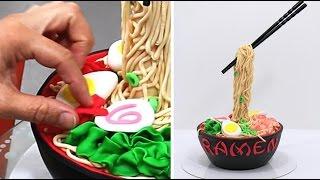 Download ANTI GRAVITY Ramen Cake - How To Make *Torta Antigravedad Video