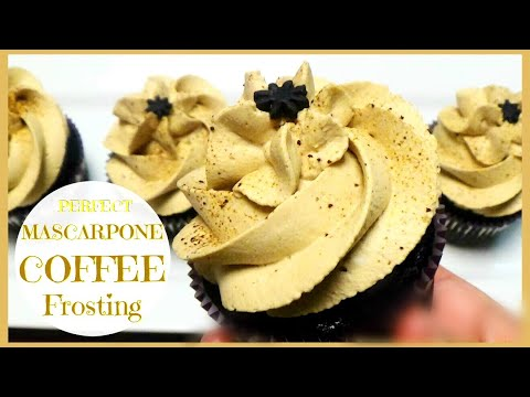 MASCARPONE COFFEE FROSTING 💜 *DELICIOUS - EASY*