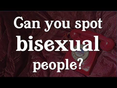 Can You Spot Bisexual People