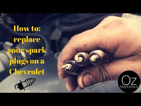 How to replace your spark plugs on a Chevrolet