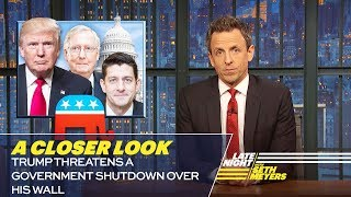 Trump Threatens a Government Shutdown over His Wall: A Closer Look