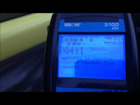 Error Code P0411 and Air Recirculation Pump Repair