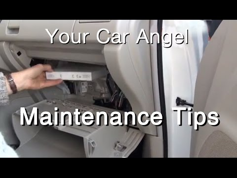 How to Replace a Cabin Air Filter on a Prius V in Less Than 3 Minutes