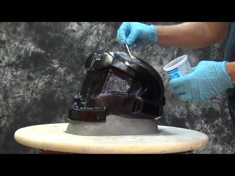 Silicone Tutorial: 1 Piece Mold Halo Helmet