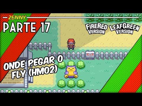 Detonado Pokémon Fire Red parte 17 - (Chegando à Celadon City e HM02)