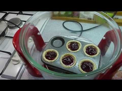 How to make jam tarts and bake in the halogen oven