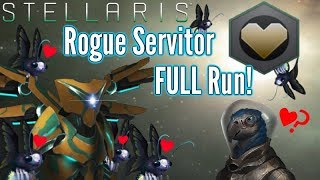 Stellaris   Rogue Servitor FULL Playthrough!   To Protect and Serve.