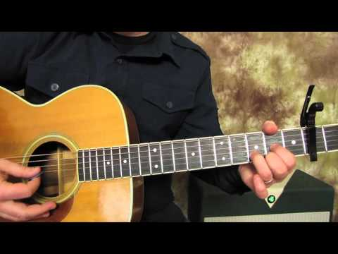 John Denver - Country Roads - Super Easy Beginner Guitar Lessons on Acoustic - How to play