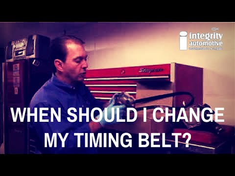 When Should I Change My Timing Belt?