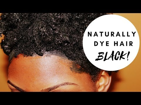 Henna and Indigo to Naturally Dye Hair Black | GodCallsMeBeloved