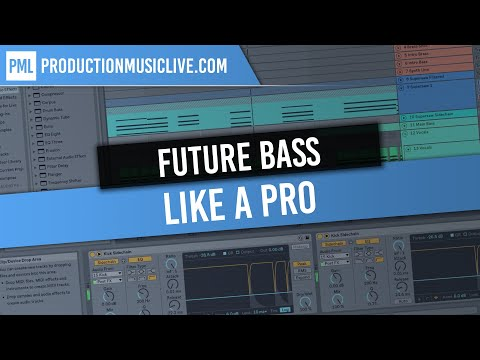 How To Make Future Bass Like A Pro - Ableton Live & Serum Tutorial & Template [Illenium, San Holo]