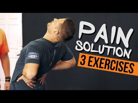 3 Exercises for TIGHT Hip Flexors & Back Pain in 5 Minutes!