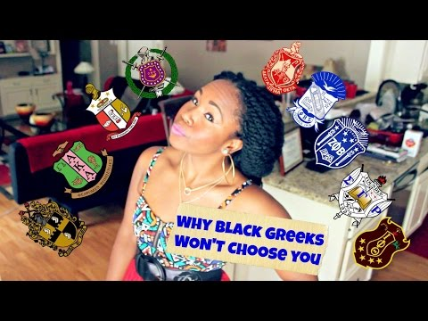 Black Greek Sororities & Fraternities || Reasons They WON'T Choose You (Opinions ONLY)