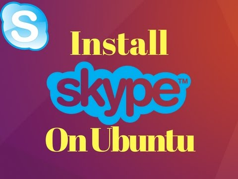 How to install skype In Ubuntu,17.10,18.04 16.04, Linux Mint