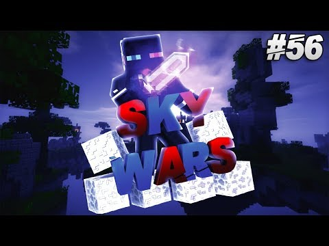 Minecraft - Hypixel SkyWars #56 - Laggy Hypixel + Crappy Ping = Win?