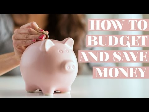 HOW TO SAVE, BUDGET AND INVEST YOUR MONEY