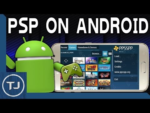 Download & Play PSP Games! Any Android Device! (PPSSPP Emulator) 2017 Tutorial!
