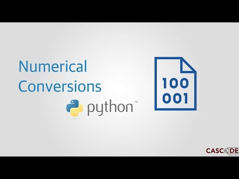 Python For Dummies By Dummies: Decimal to Binary and Hex Conversions