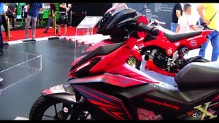 Honda Winner 150/Supra GTR/RS150 & Blade 110 Modified - Walkaround - VMS 2017
