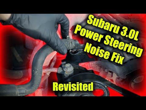 Subaru H6 Power Steering Noise Revisited