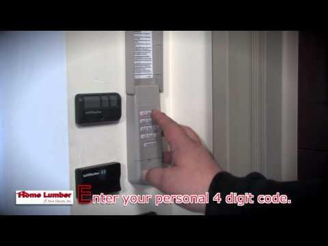 How to Program Your Liftmaster Keypad