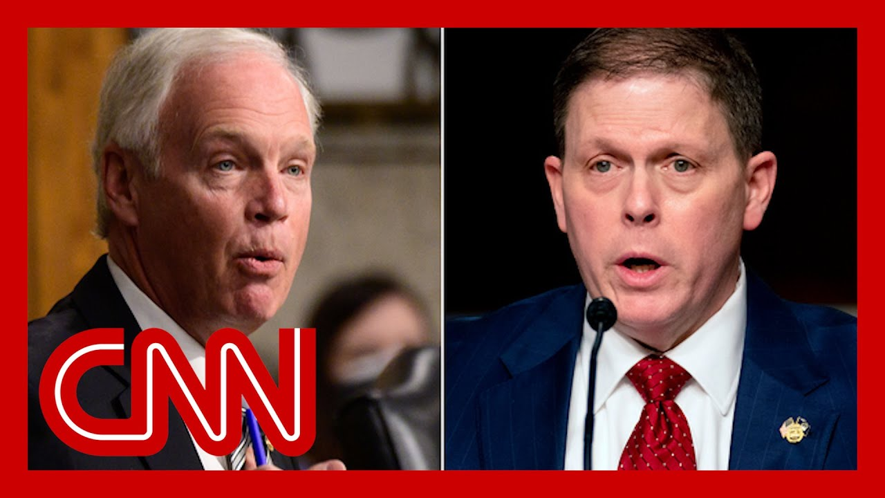 Ex-Capitol police chief contradicts GOP senator at riot hearing