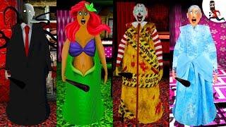 All the Mods of Granny ► by Abegi Jo ► Slender Man (Horror mod) ► The evolution №30
