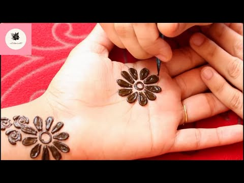 Eid 2019 Special Mehendi Design Front Hand Simple Front