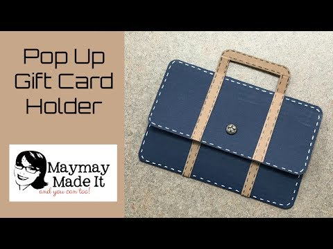 Father's Day Briefcase Gift Card Holder