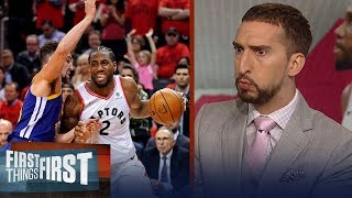 Raptors have to respond after Game 5 collapse to win Finals - Nick Wright   NBA   FIRST THINGS FIRST