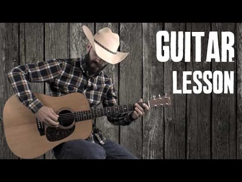Makin' It Country with Blues Riffs - Beginner Lesson Country Bluegrass Licks