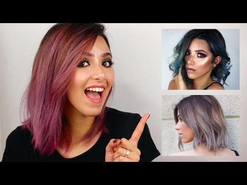 HOW I DYE MY HAIR (FROM BROWN TO SILVER, BLUE, PINK)