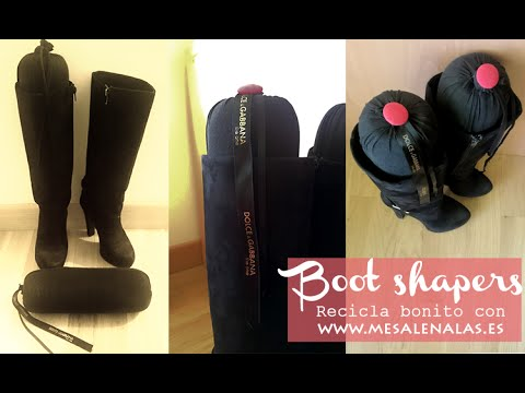 Recicla bonito: BOOT SHAPERS ME SALEN ALAS