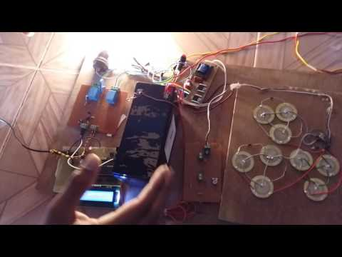 BE Final Year 2015 Project - Power generation using piezo